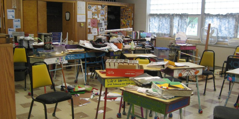 The Life-changing Magic of Tidying the Learning Environment